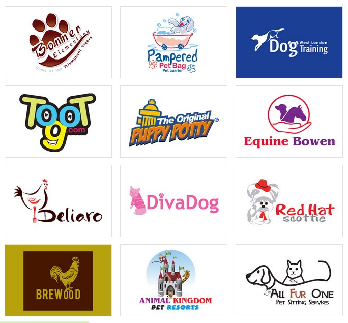 Custom Animal Logo Design