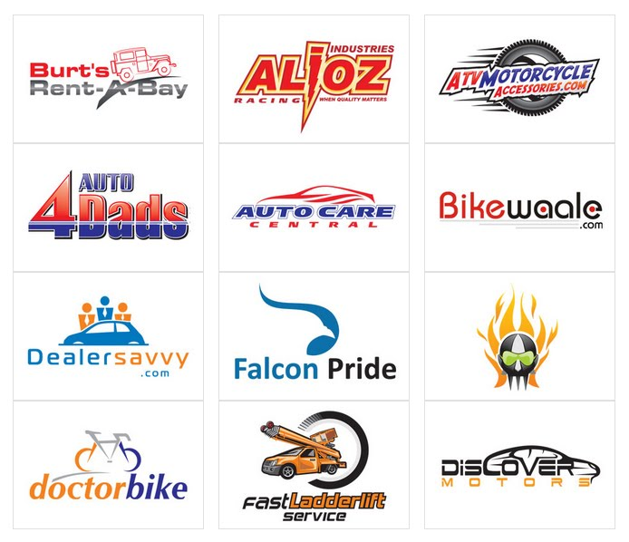 Automotive Logo Designs By Designvamp For 39