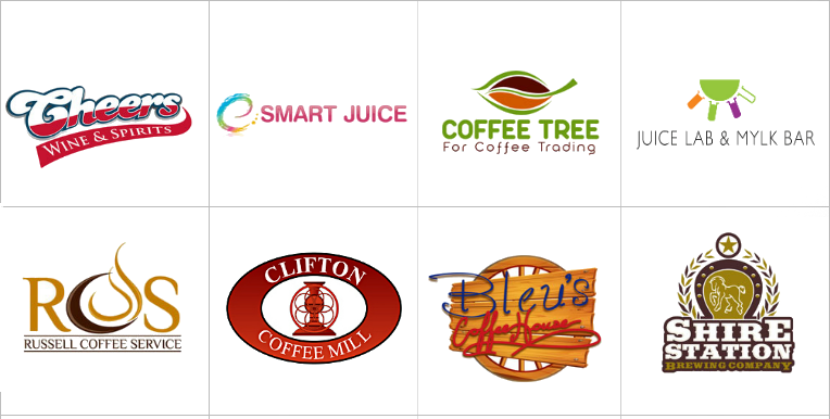Custom Beverages Logo Design
