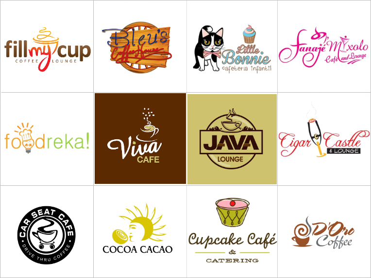 Custom Cafe Logo Designs