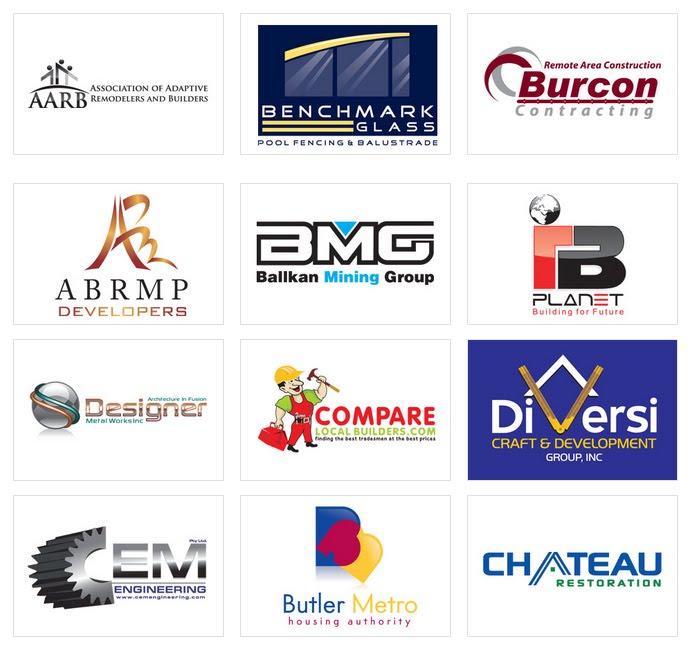 Custom Construction Logo Design