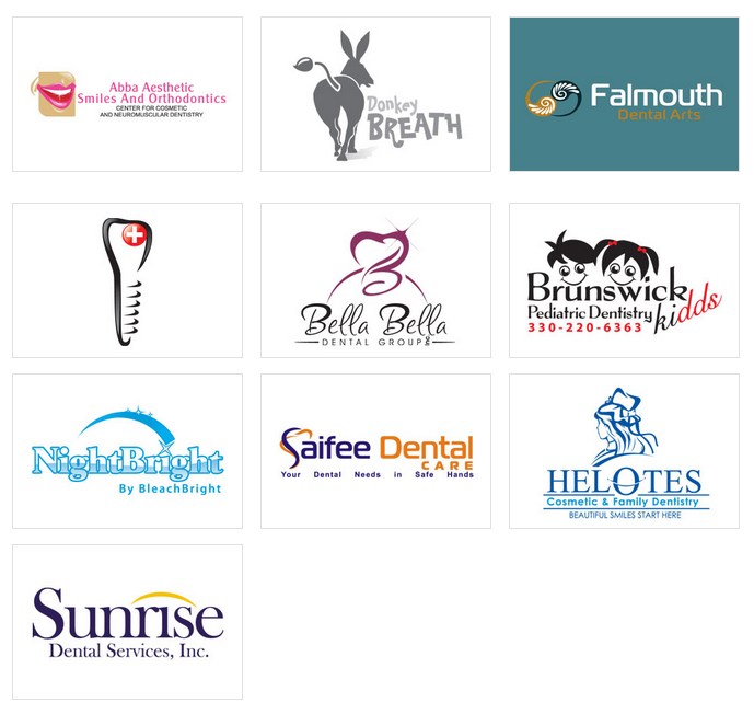 Custom Dental Logo Design