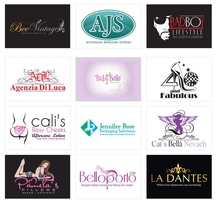 Custom Fashion Logo Design