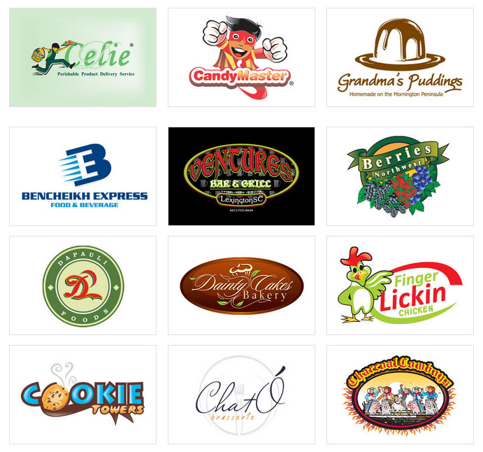 Custom Food Logo Design