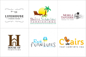 Custom Furniture Logo Design