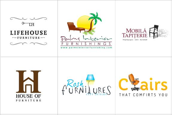 Custom Furniture Logo Design