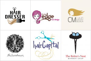 Custom Hair Logo Design