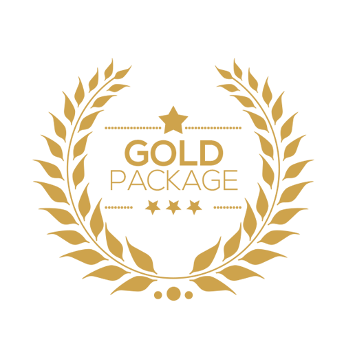 Gold Package Graphics Design