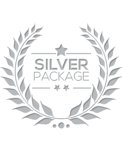 Silver Package Graphics Design