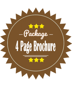 4 Page Brochure Design Package