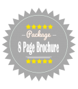 8 Page Brochure Design Package
