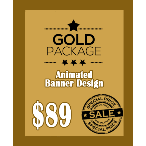 Animated Banner Design Packages