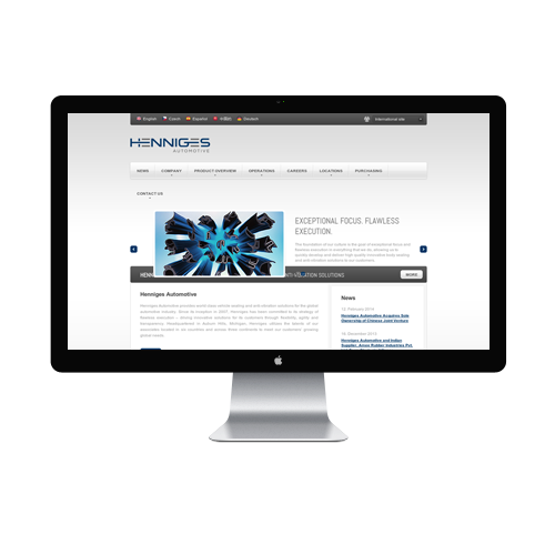 Automobile Website design Services
