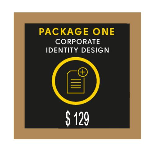 Bronze Custom Stationery Design Package