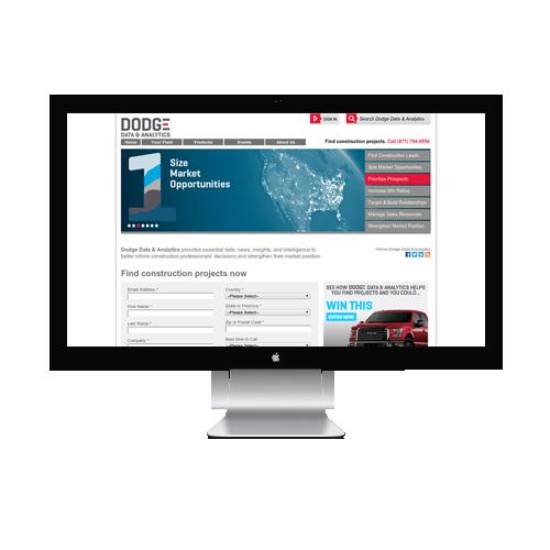 Construction Website design Services