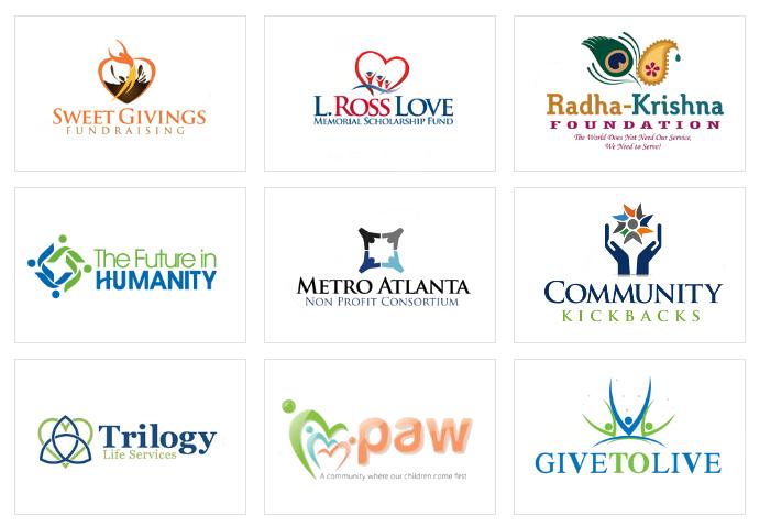 Custom Community and Foundation Logo Design