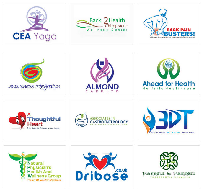 Health Logo Designs By Designvamp For 39
