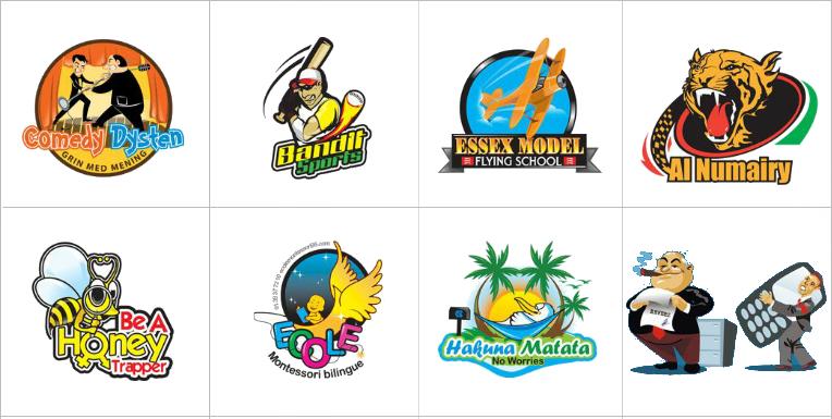 Custom Illustration Logo Design