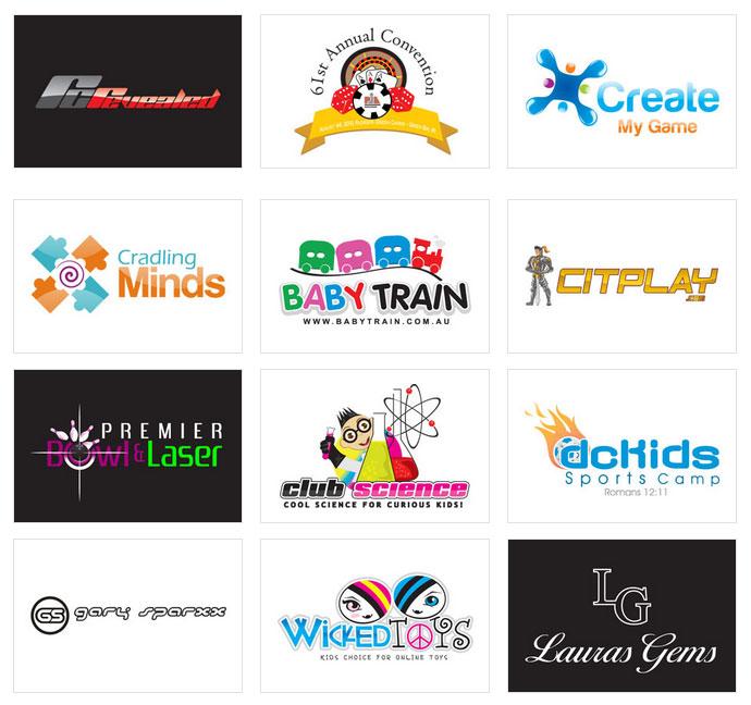 Custom Kids Logo Design