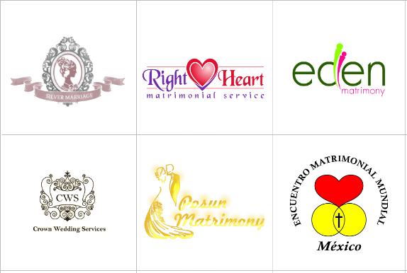Custom Matrimonial Logo Design