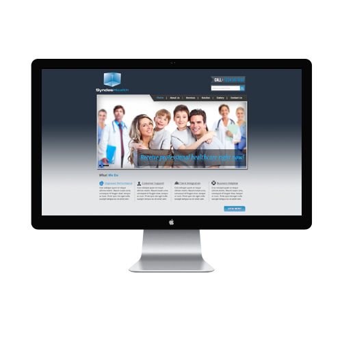 Custom Medical Website designer
