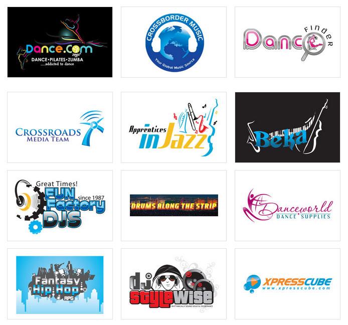 Custom Music Logo Design