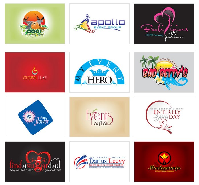 party logo designs by designvamp for 39