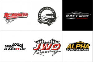 Custom Racing Logo Design