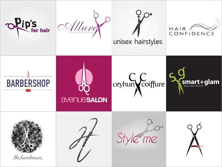 Custom Salon Logo Design