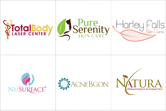 Custom Skin Care Logo Design