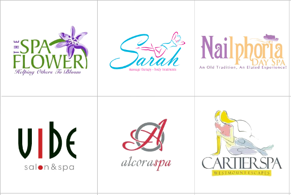 Custom Spa Logo Design