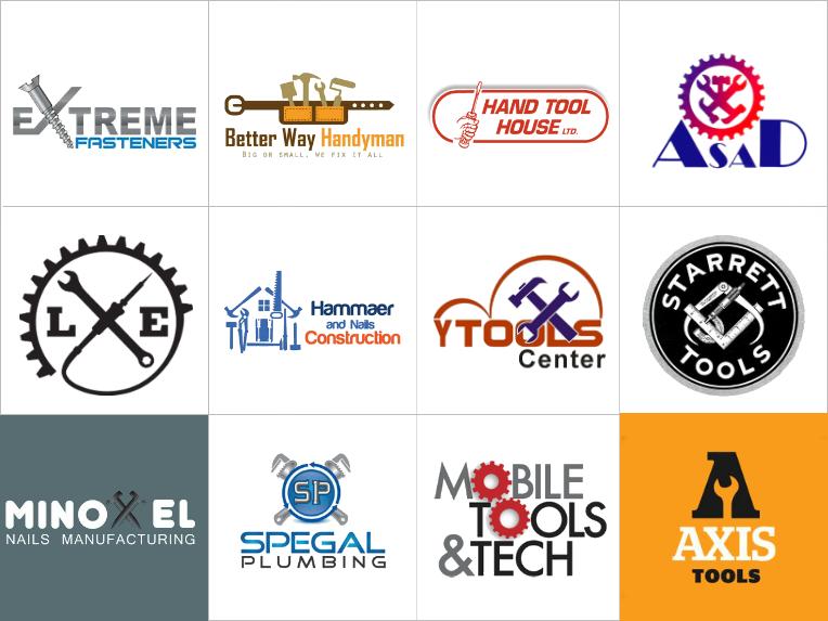Custom Tools Logo Design