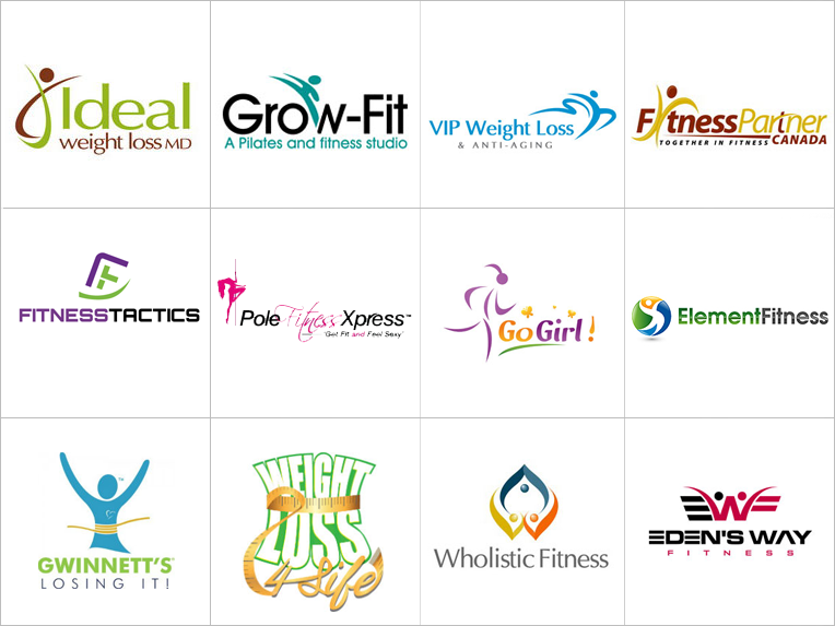 Custom Weight Loss Logo Design