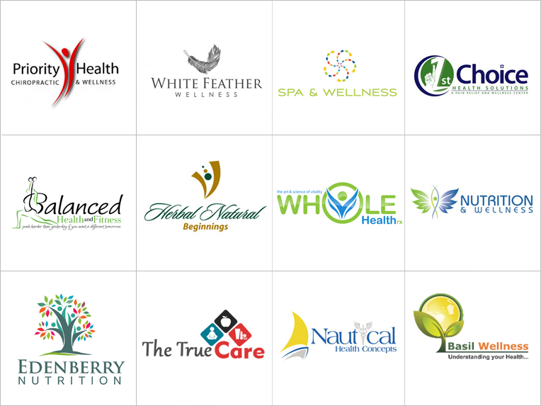 Custom Wellness Logo Design