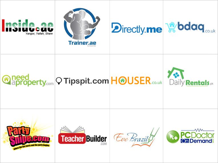 Custom website logo design