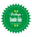 Double Side Leaflet Brochure Design Package
