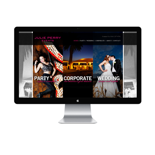 Event Planner Website design Services