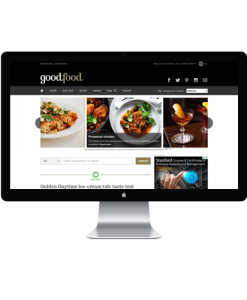 Recipes Website design Services