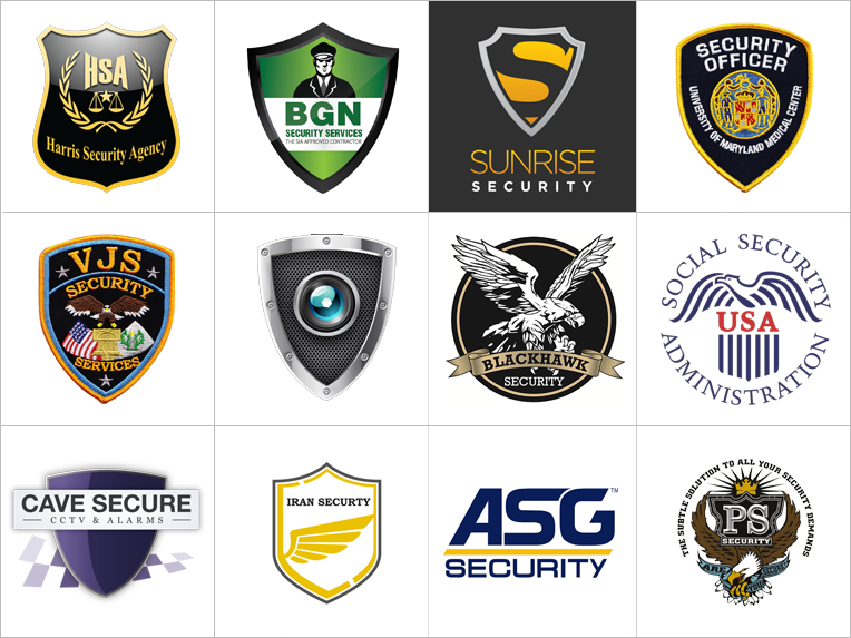 logos of security clipart library