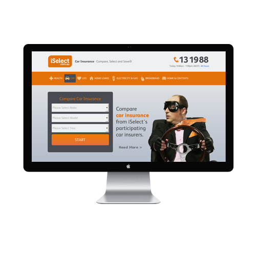 iselect landing page