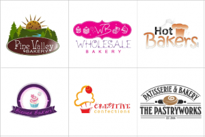 Custom Bakery Logo Design