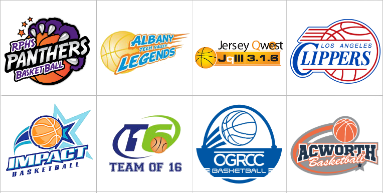 Custom Basketball Logo Design