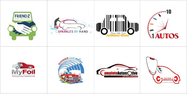 Custom Car Logo Design