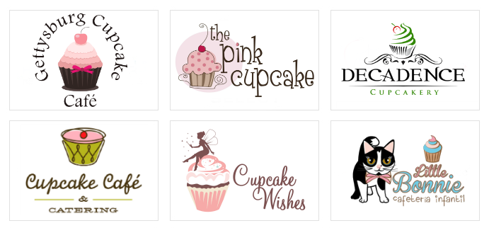 Custom Cupcake Logo Designs