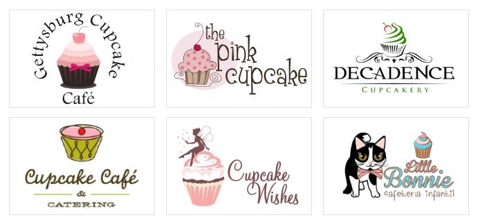 Custom Cupcake Logo Designs