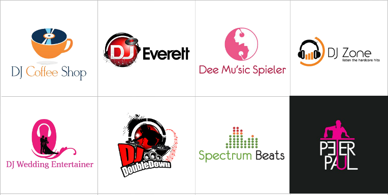 Custom DJ Logo Design
