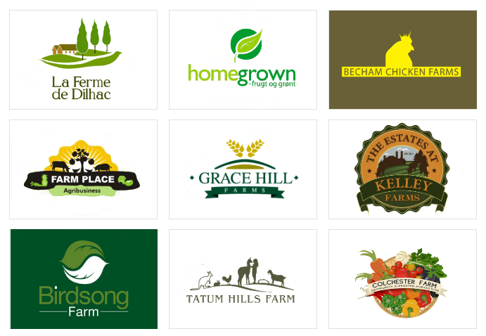 Custom Farm Logo Designs