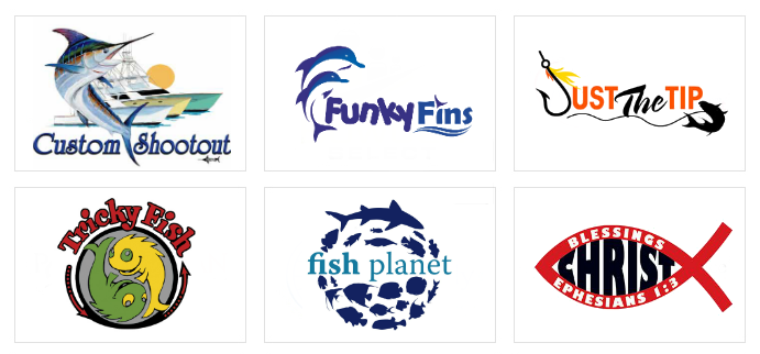 Custom Fish Logo Design