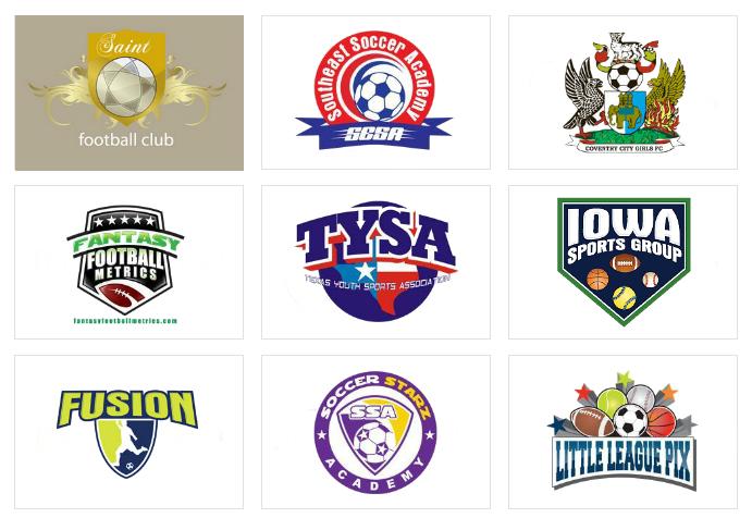 Custom Football Logo Design