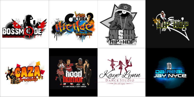 Custom Hip Hop Logo Design